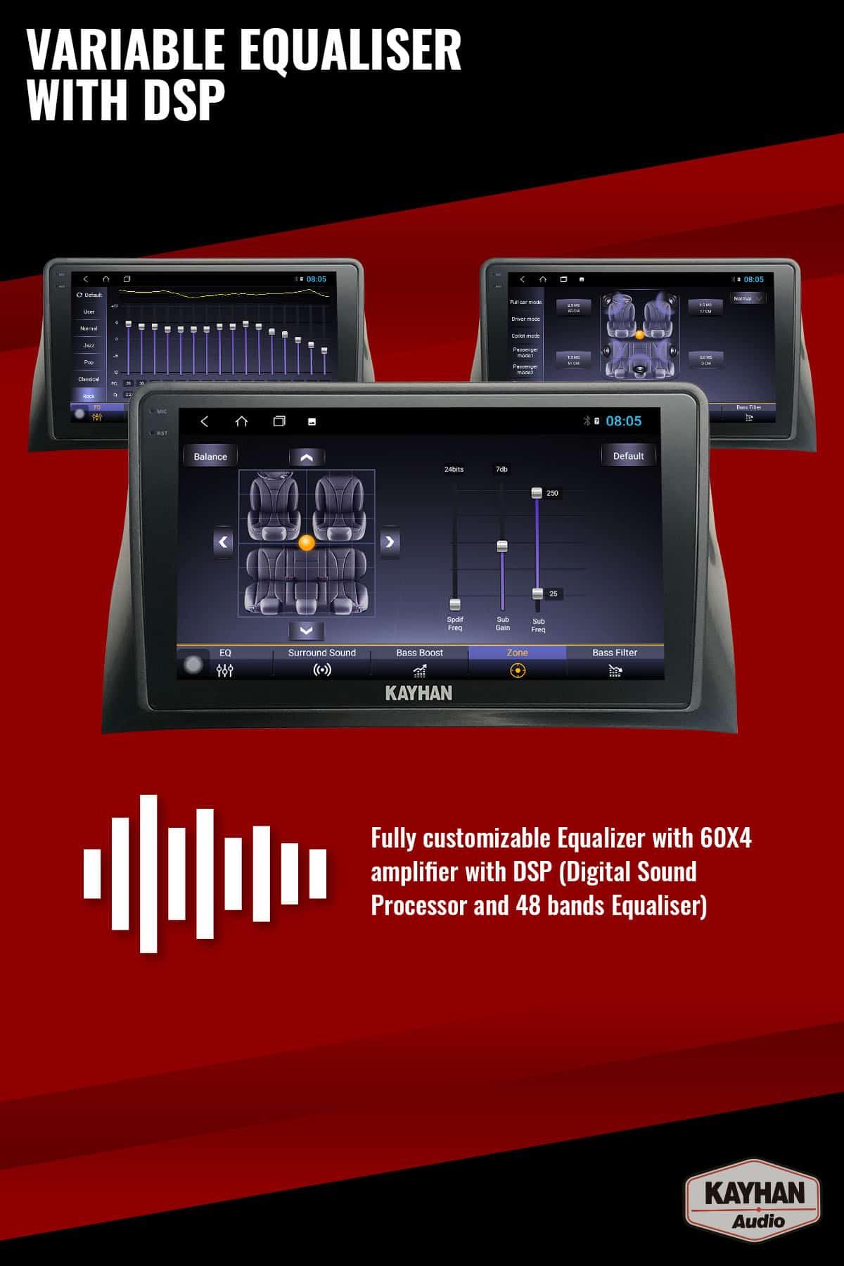 SatNav for FORD Falcon FG MKI _ 9.6″ inch VERSION III - 06 Equaliser