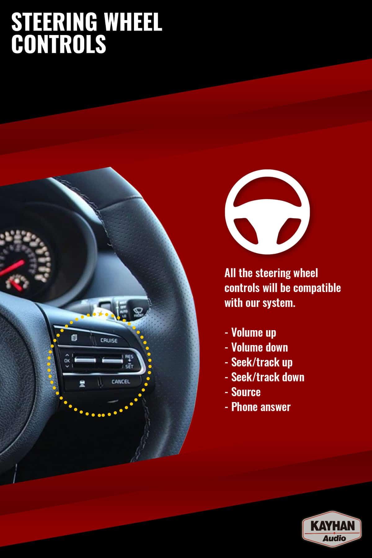 SatNav for FORD Falcon FG MKI _ 9.6″ inch VERSION III - 16 Steering Wheel