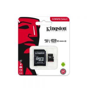 SD Card – 16GB / 32GB / 64GB / 128GB